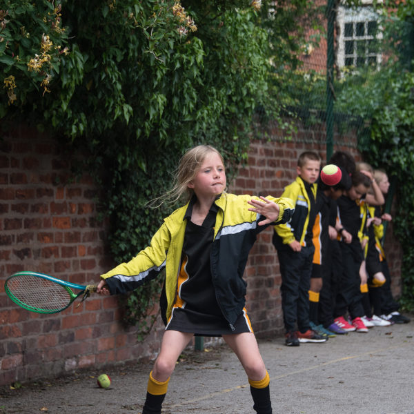 Children playing tennis 10