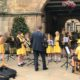St. Winefride's Band play in the Square