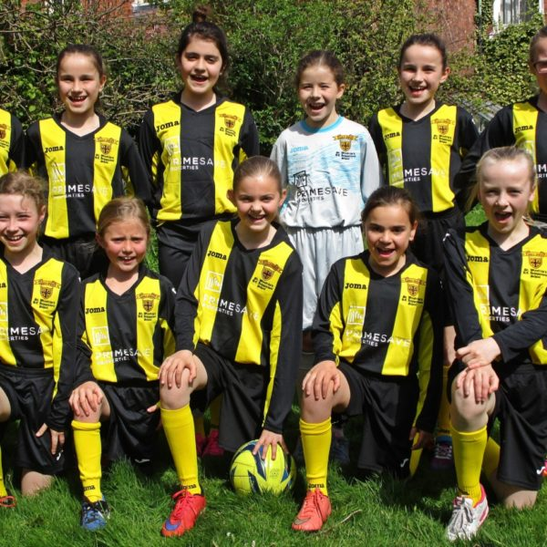 Girls Football Team