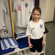 St. Winefride's pupil walks out with England Football Team!